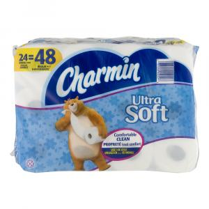 Charmin Ultra Soft Double Roll Bath Tissue