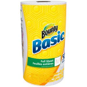 Bounty Basic White Paper Towels