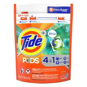 Tide Pods With Febreze Laundry Detergent