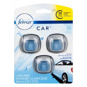 Febreze Car Linen & Sky Air Freshener