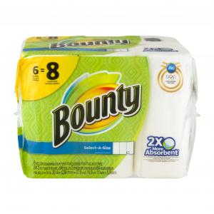 Bounty Select-a-size White Big Roll Paper Towels