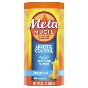 Metamucil Appetite Control Orange Zest