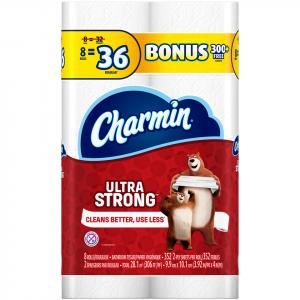 Charmin Ultra Strong Mega Roll Bath Tissue Bonus
