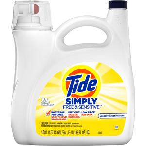 Tide Simply Free & Sensitive 89 Load