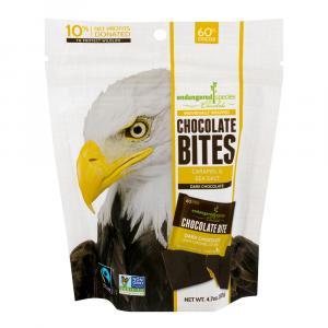 Endangered Species Caramel & Sea Salt Dark Chocolate Bites