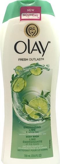 Olay Energizing Lime & White Tea Body Wash