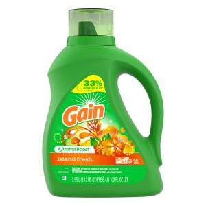 Gain Hec Island Fresh Liquid Laundry Detergent - 64 Loads
