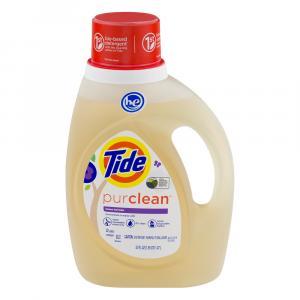 Tide Honey Lavender Purclean High Efficiency Detergent