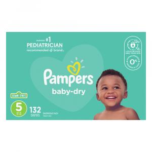 Pampers Size 5 Baby Dry Diapers