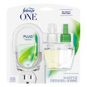 Febreze One Plug Scented Oil Refill and Oil Warmer Bamboo
