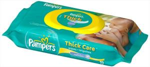 Pampers Thick Care Scented W/fitment Baby Wipes