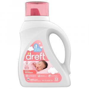 Dreft Stage 1 Newborn Liquid Laundry Detergent