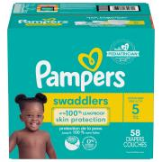 Pampers Size 5 Swaddlers Super Mix