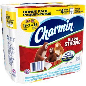 Charmin Ultra Strong Double Roll Bath Tissue
