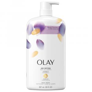 Olay Age Defying Body Wash With Pump