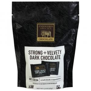 Endangered Species 88% Cocoa Dark Chocolate Bark