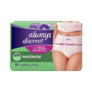 Always Discreet Underwear Maximum Small/Medium