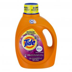 Tide High Efficiency With Febreze Spring Renewal Bonus