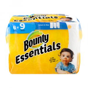 Bounty Essential White Select A Size Giant Roll Paper Towel