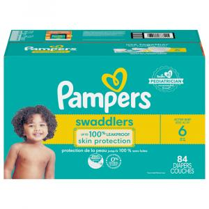 Pampers Size 6 Omni Enormous Value