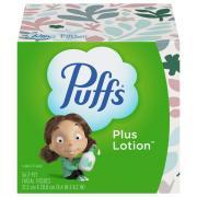 Puffs Plus Lotion Cube Facial Tissues