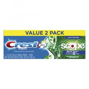 Crest Complete Plus Scope Outlast Toothpaste
