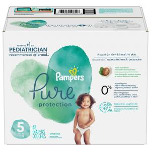 Pampers Pure Protection Super Pack Size 5