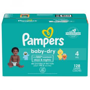 Pampers Baby Dry Size 4 Giant Pack