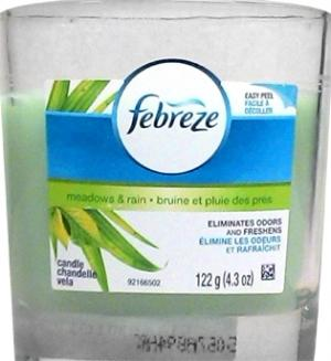 Febreze Candle Meadows And Rain