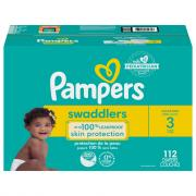 Pampers Swaddlers Size 3 Diapers Giant Pack