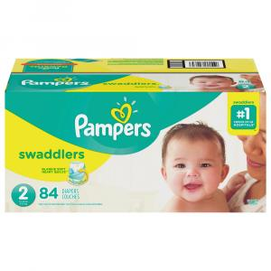 Pampers Size 2 Swaddlers Super Pack