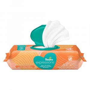 Pampers Expressions Fresh Bloom Scent Baby Wipes