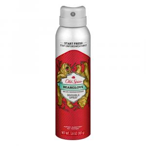 Old Spice Bearglove Invisible Spray Deodorant