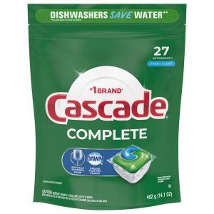 Cascade Complete Action Pacs Fresh Scent