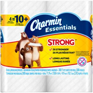Charmin Essentials Strong Giant Roll Bath Tissue