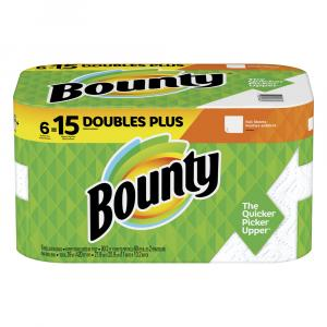 Bounty White Full Sheets Double Plus Roll Paper Towels