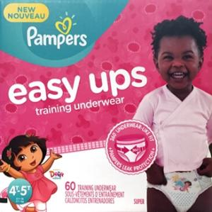 Pampers Easyups Girl 4t-5t