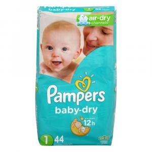 Pampers Size 1 Baby Dry Jumbo Pack