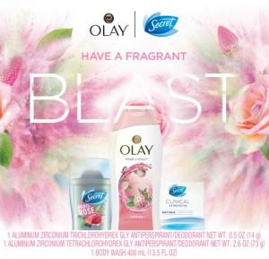 Secret Olay 2018 Holiday Gift Pack