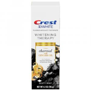 Crest 3D White Whitening Therapy Charcoal Toothpaste