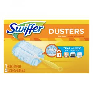 Swiffer Duster Kit - 1 Handle with 5 Unscented Dusters