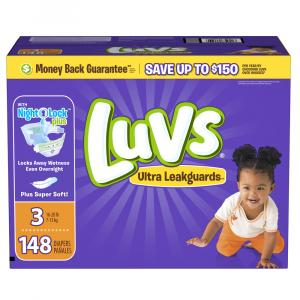 Luvs Ultra Leakguard Size 3 Value Pack
