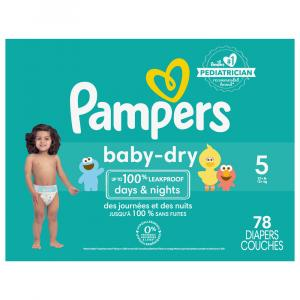 Pampers Size 5 Baby Dry Super Pack