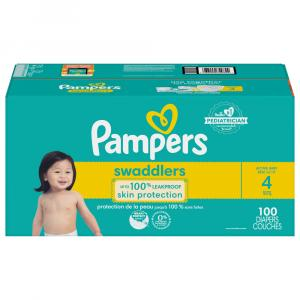 Pampers Size 4 Swaddlers Giant Mix