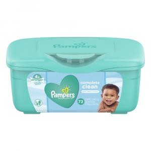 Pampers Baby Fresh Scent Wipes Tub