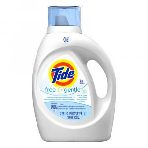 Tide High Efficiency Fragrance Free Laundry Detergent