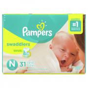 Pampers Size N Swaddlers Jumbo Pack