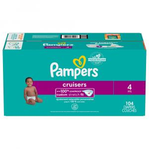 Pampers Cruisers Size 4 Giant Pack