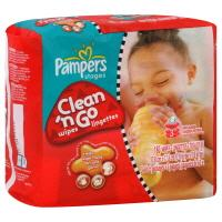 Pampers Clean N' Go Wipes Refill