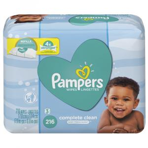Pampers Complete Clean Baby Fresh Scent Baby Wipes